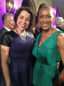 Claudia Gordon & Lydia Callis at the NAD Awards Gala 2014